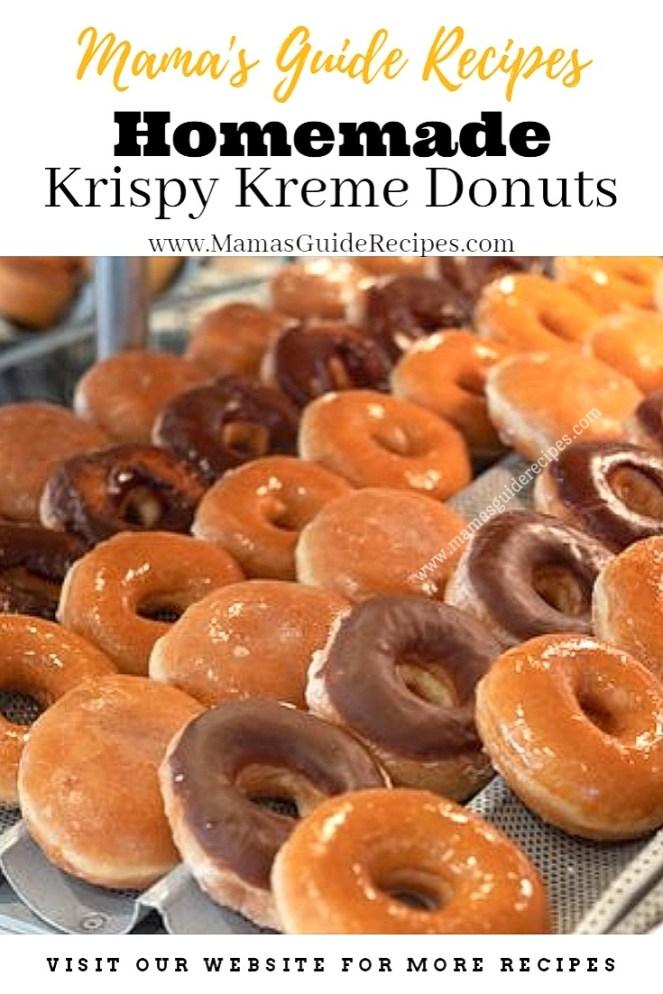 Homemade Krispy Kreme Donuts