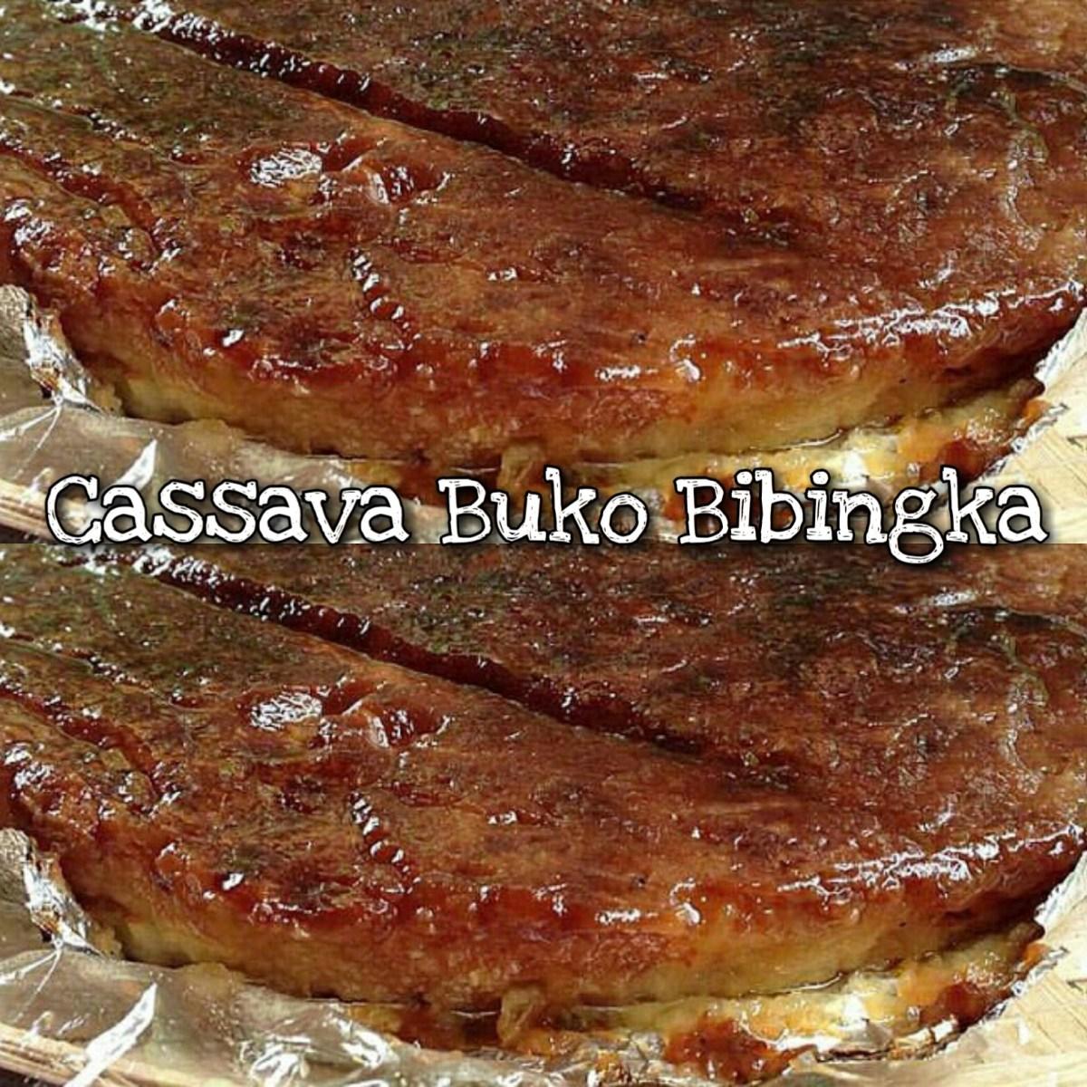 Cassava Buko Bibingka (Tinagalog)
