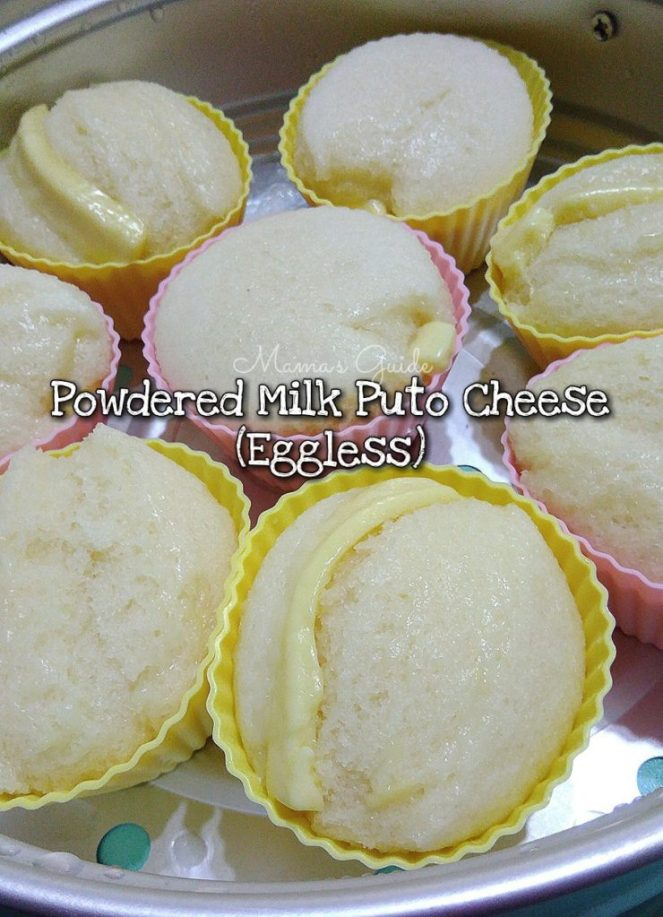 Powdered Milk Puto Cheese