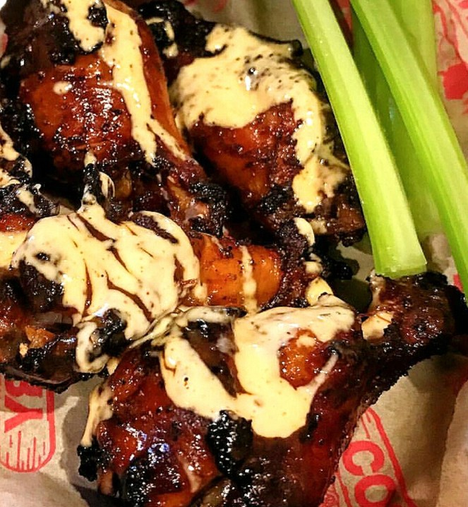 Grilled Chicken with Alabama White BBQ Sauce