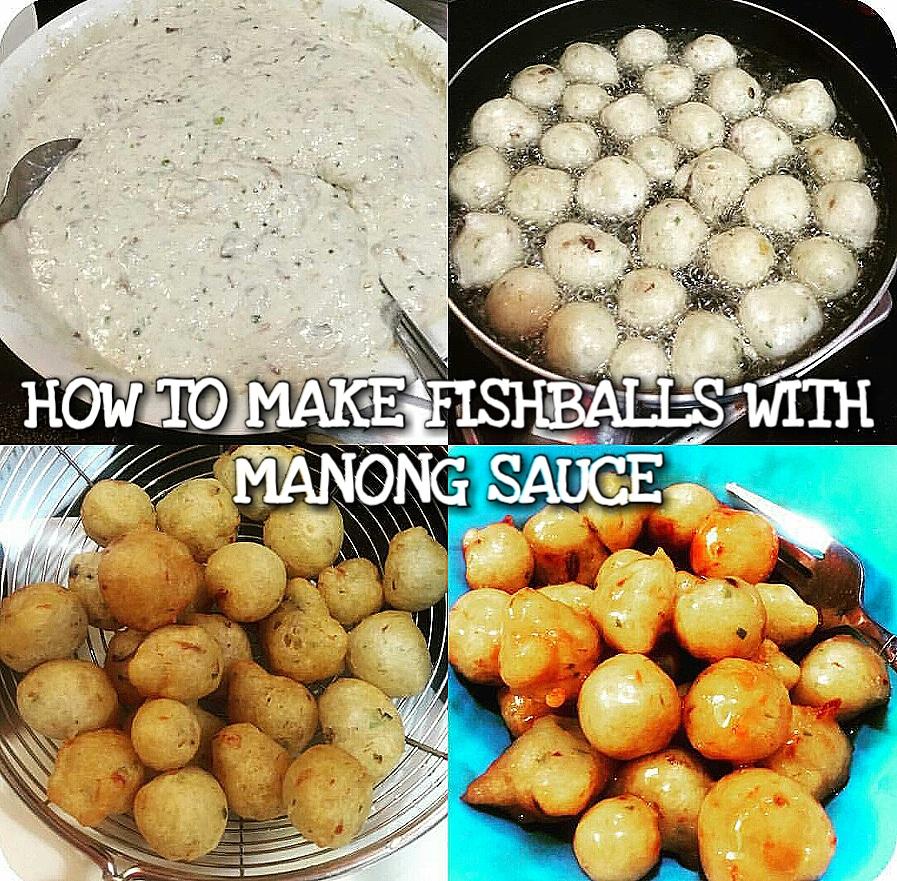 How to make Fishball with Manong Sauce