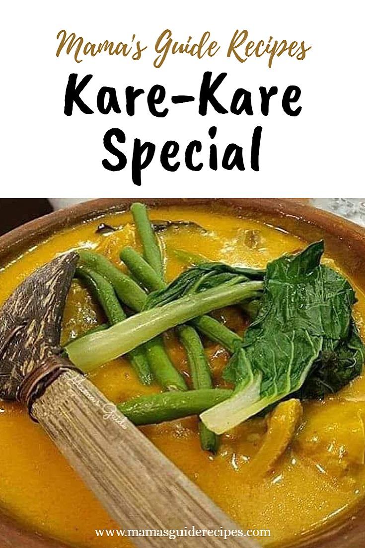 Kare-Kare Special