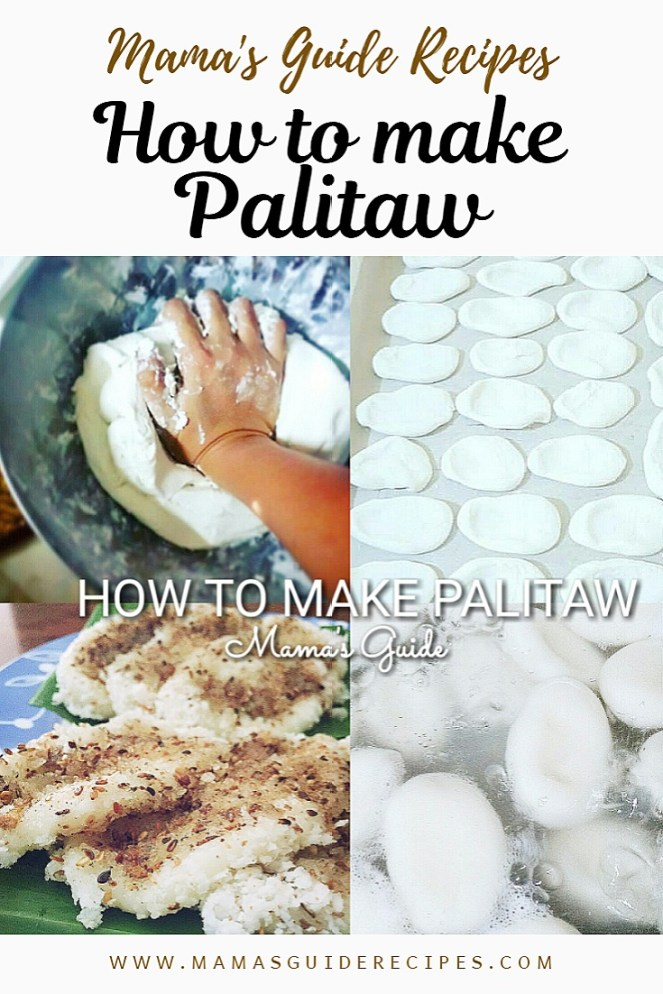 How to make Palitaw