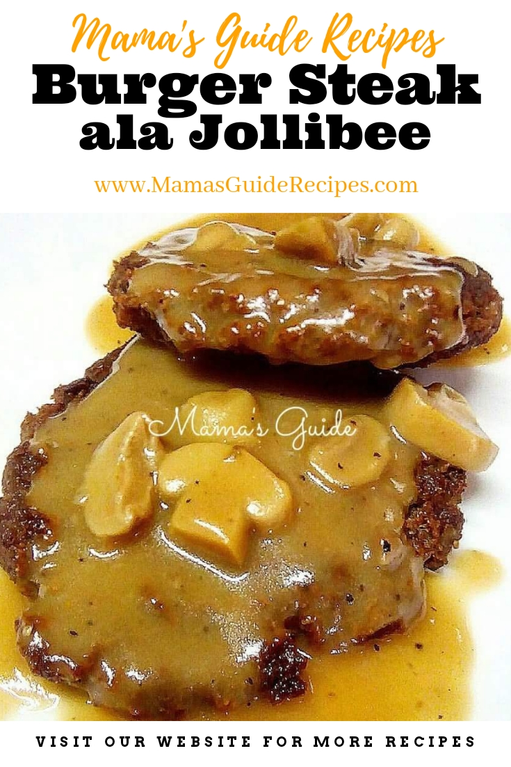 Burger Steak Ala Jollibee
