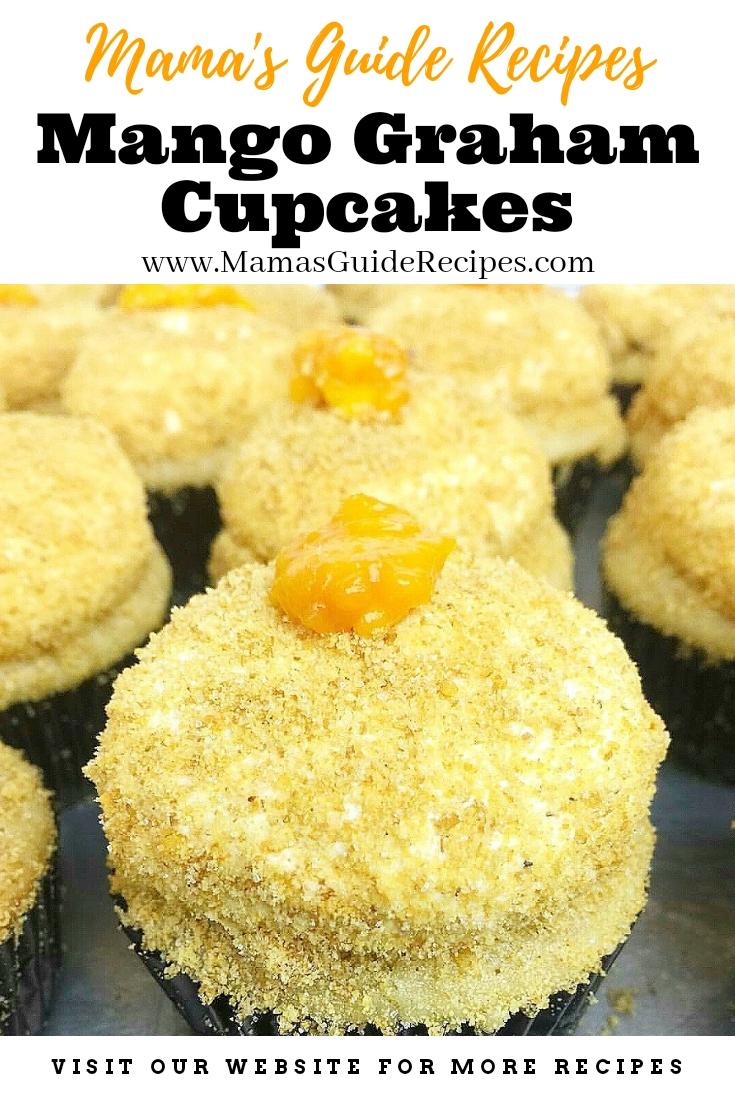 Mango Graham Cupcakes