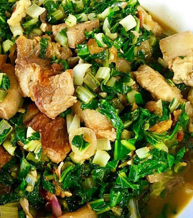 Ginisang Pechay with Pork