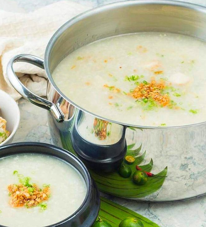 Lugaw Recipe, rice porridge