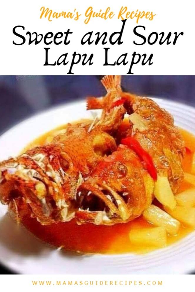 Sweet and Sour Lapu Lapu