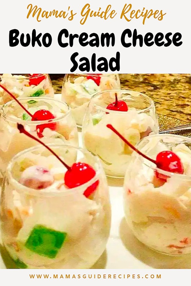 Buko Cream Cheese Salad