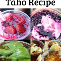 Homemade Taho Recipe