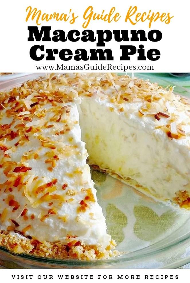 Macapuno Cream Pie