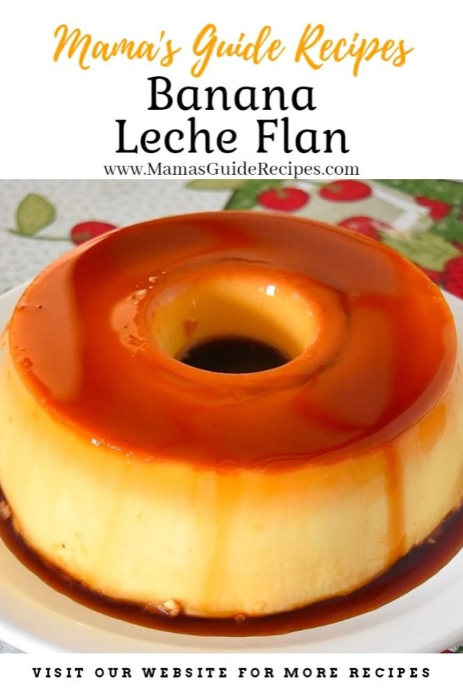 Banana Leche Flan