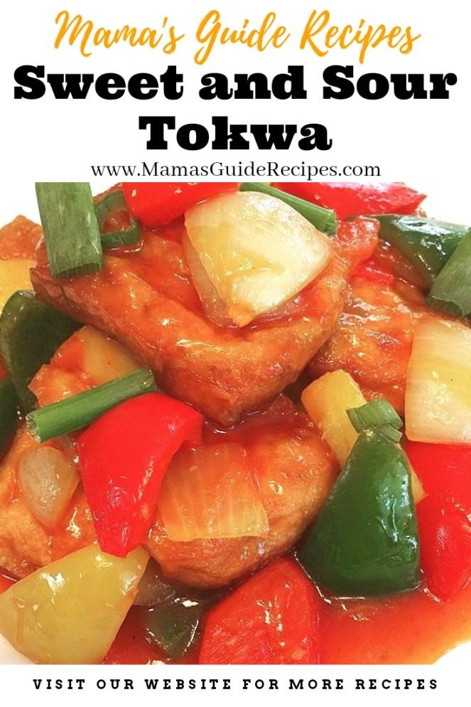 Sweet and Sour Tokwa (Tofu)