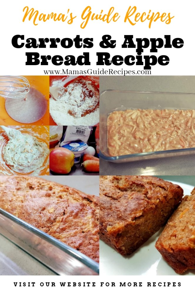 Carrots and Apple Bread