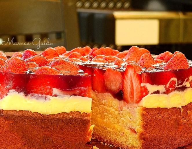 Mama S Cake Recipe Italian: Strawberry Jello Cake