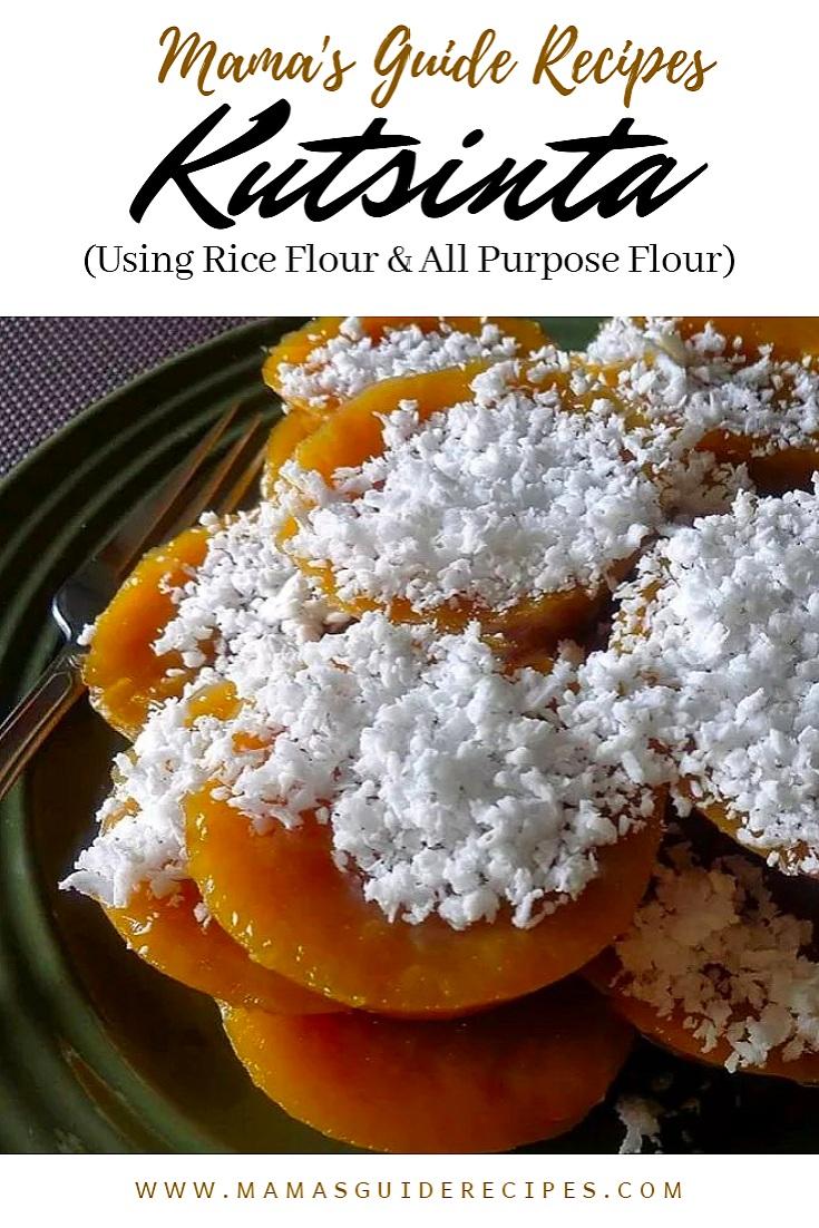 Kutsinta (Using Rice Flour & All Purpose Flour)