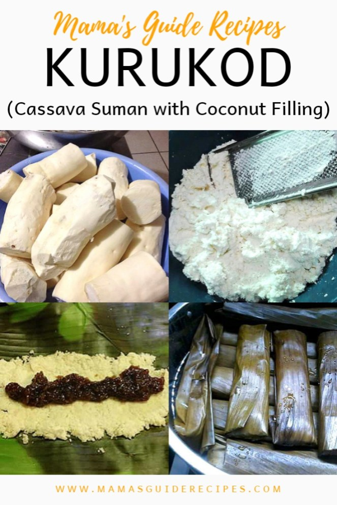 Kurukod (Cassava Suman with Coconut Filling)