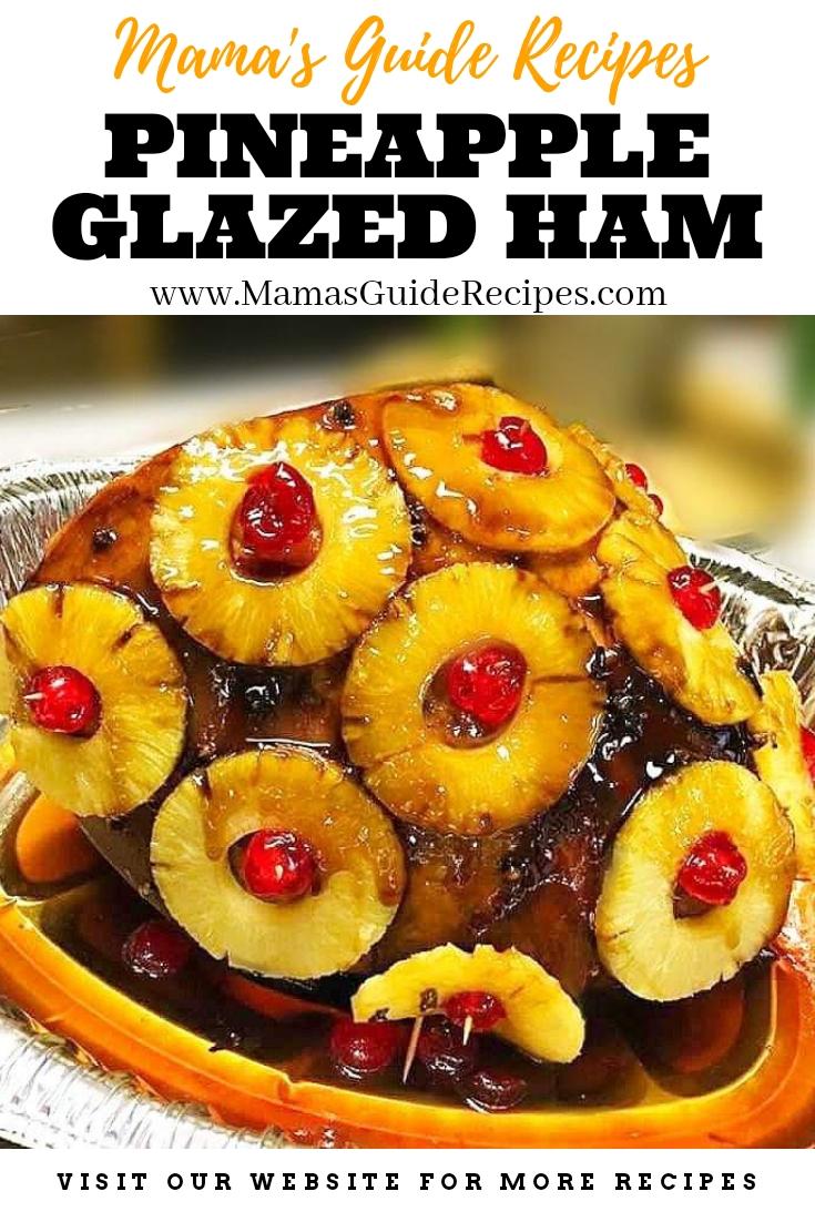 Pineapple Glazed Ham (Filipino Style)
