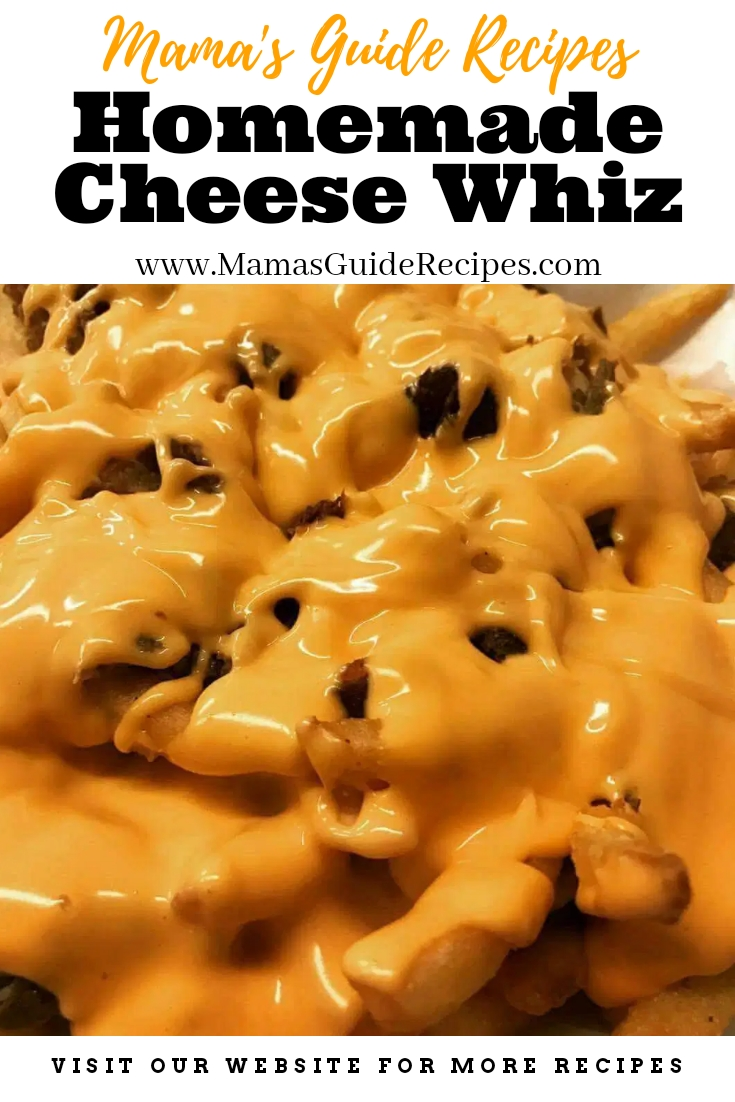 Homemade Cheese Whiz