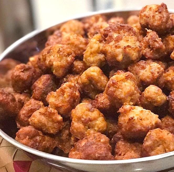 Crispy Fried Meatballs