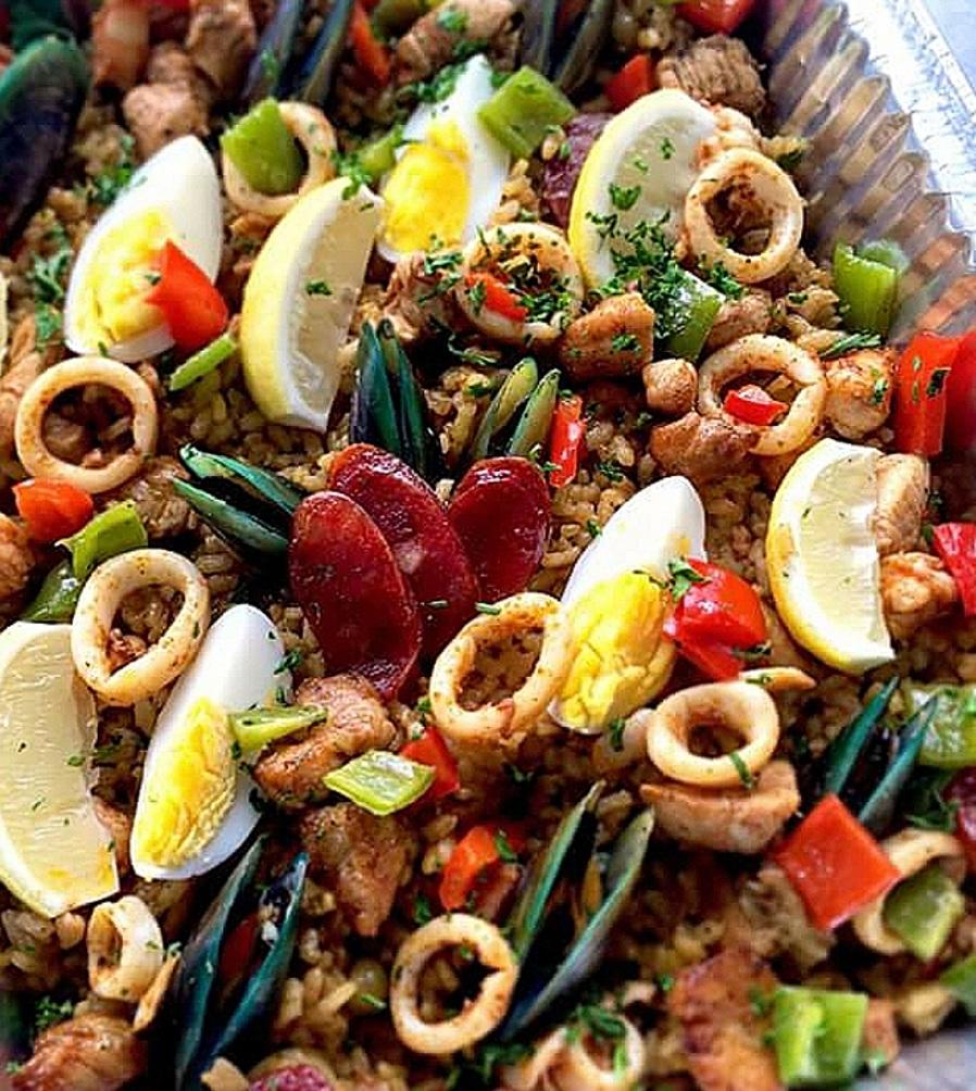 Paella Valenciana (Rice Cooker)