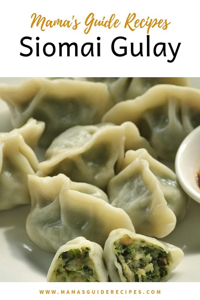 Siomai Gulay