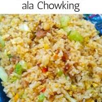 PORK CHAO FAN ALA CHOWKING