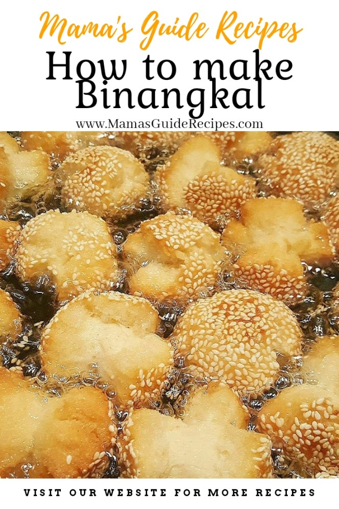 How to make Binangkal