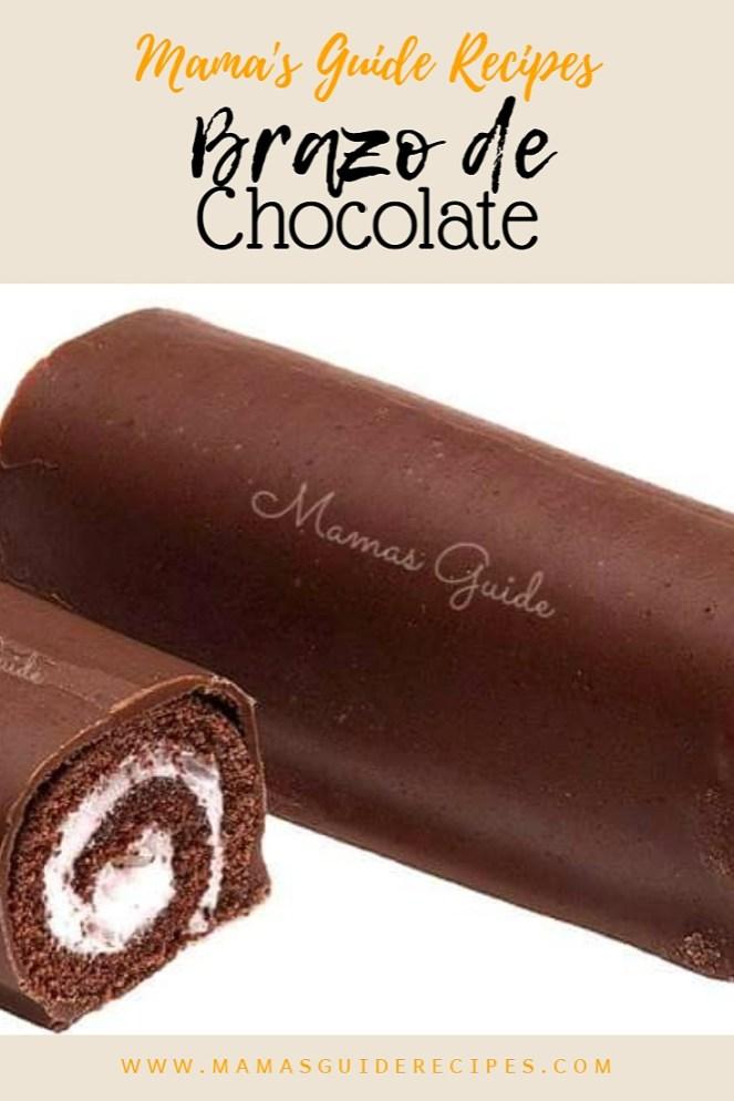 brazo de chocolate