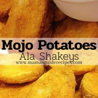 Mojo Potatoes ala Shakey's