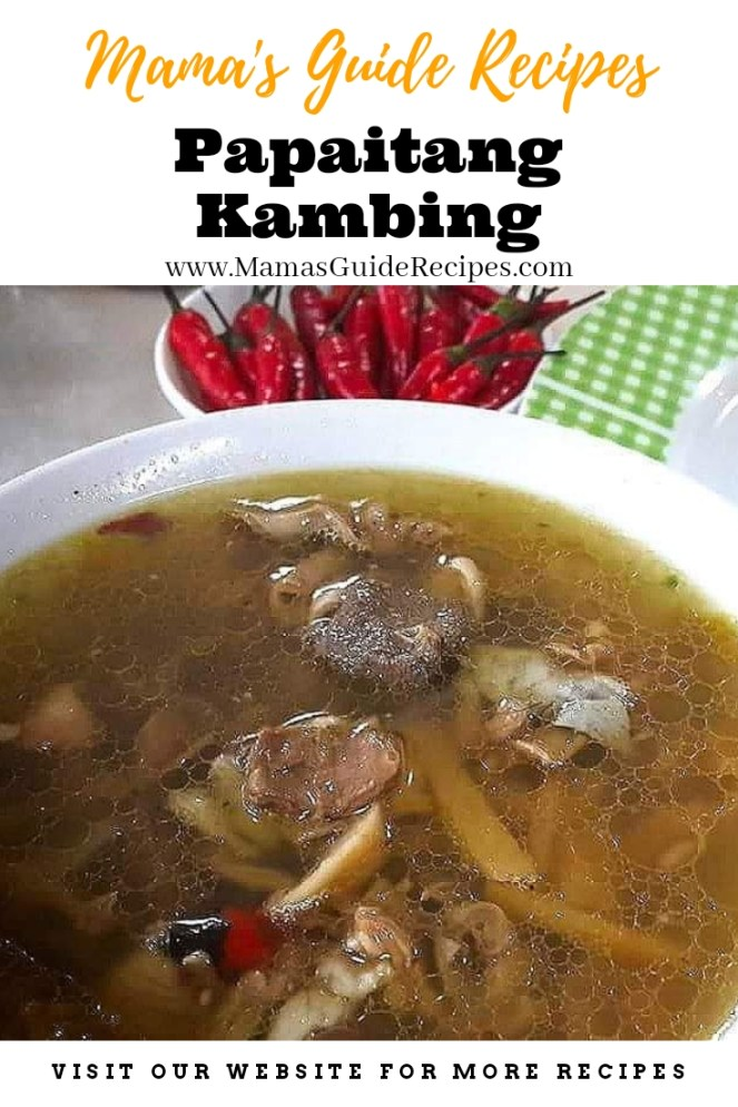 Papaitang Kambing Recipe