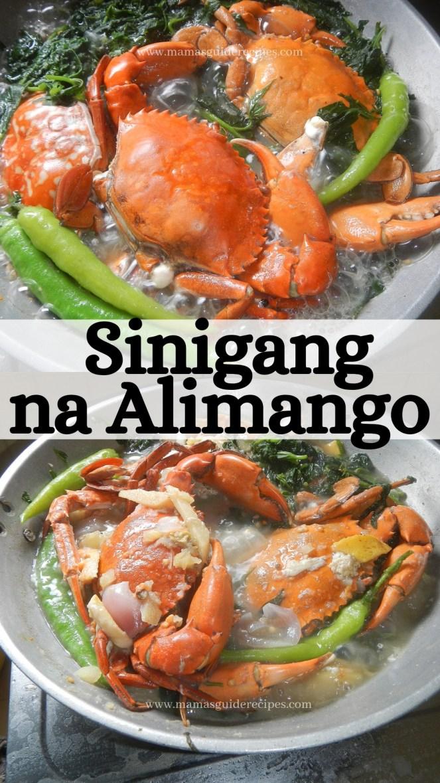 Sinigang na Alimango
