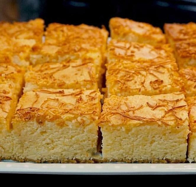 Cheese Cake Bars - Filipino Style