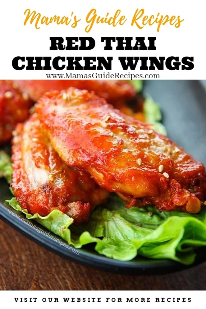 Red Thai Chicken Wings