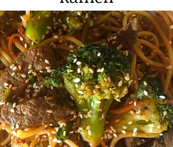 Beef and Broccoli Ramen Recipe