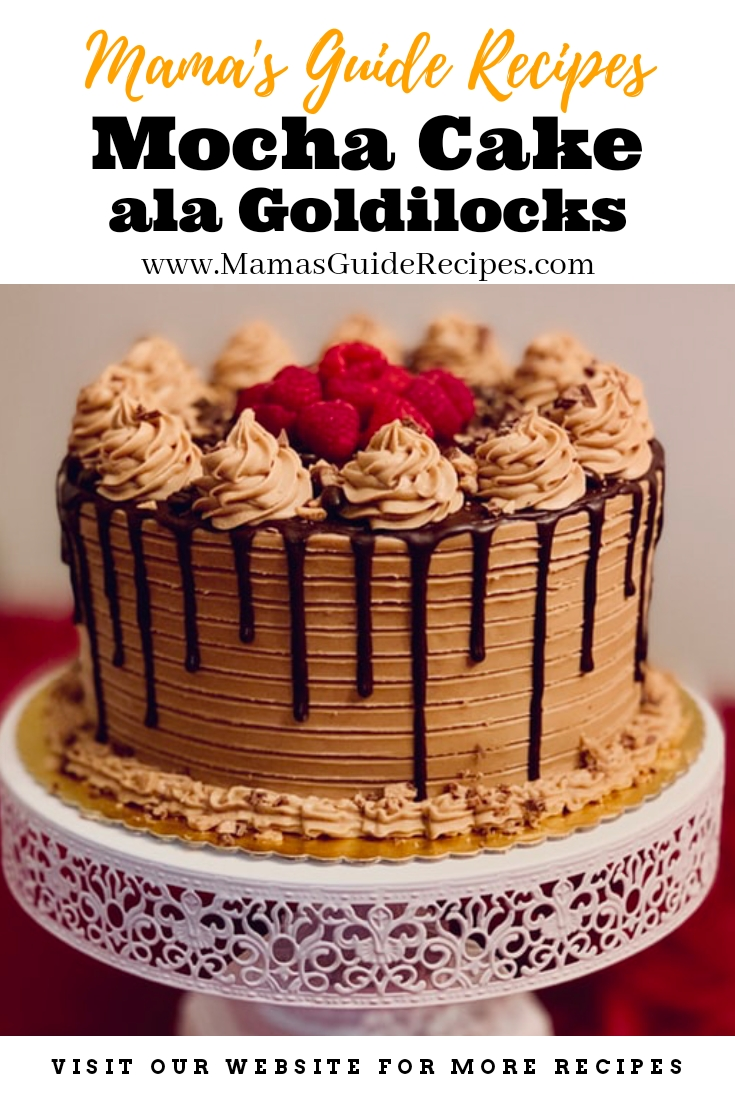 Mocha Cake ala Goldilocks
