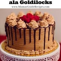 Mocha Cake Ala Goldilocks Recipe