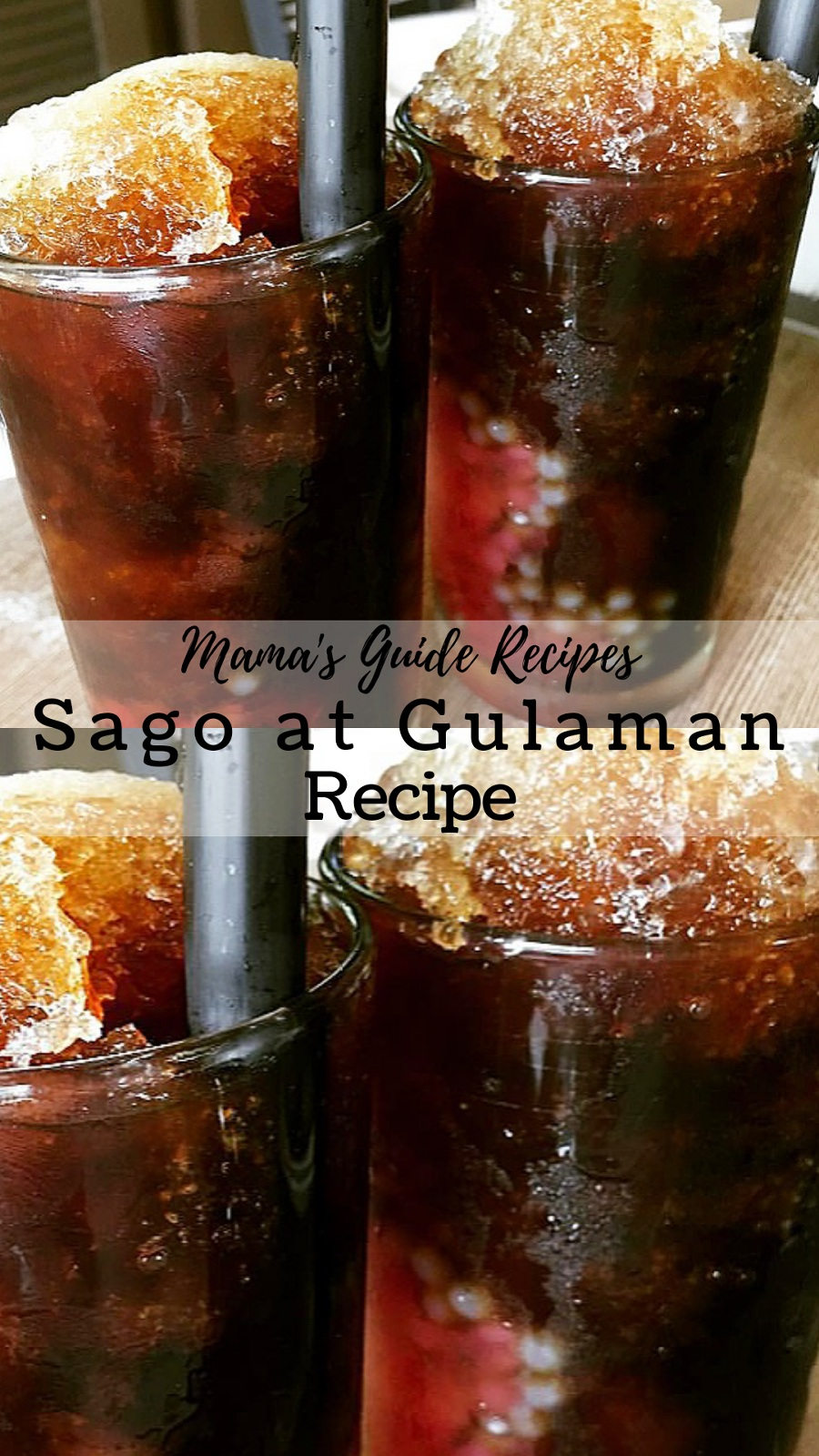 How To Make Gulaman At Sago