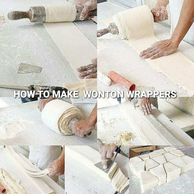 HOW TO MAKE MOLO OR WONTON WRAPPER