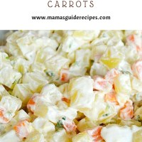 Potato Salad with Carrots