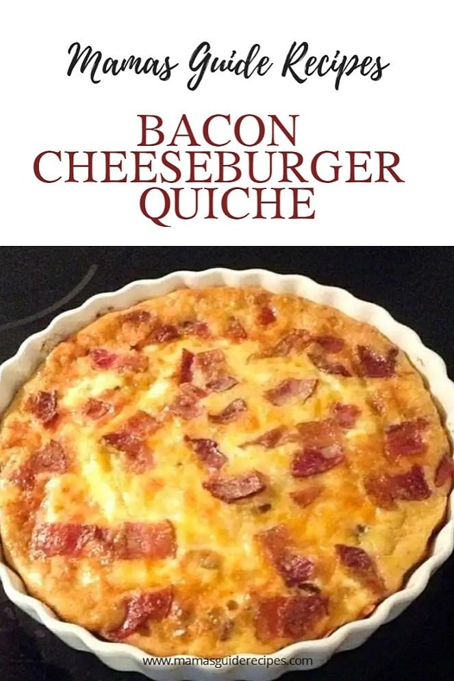 Bacon Cheeseburger Quiche