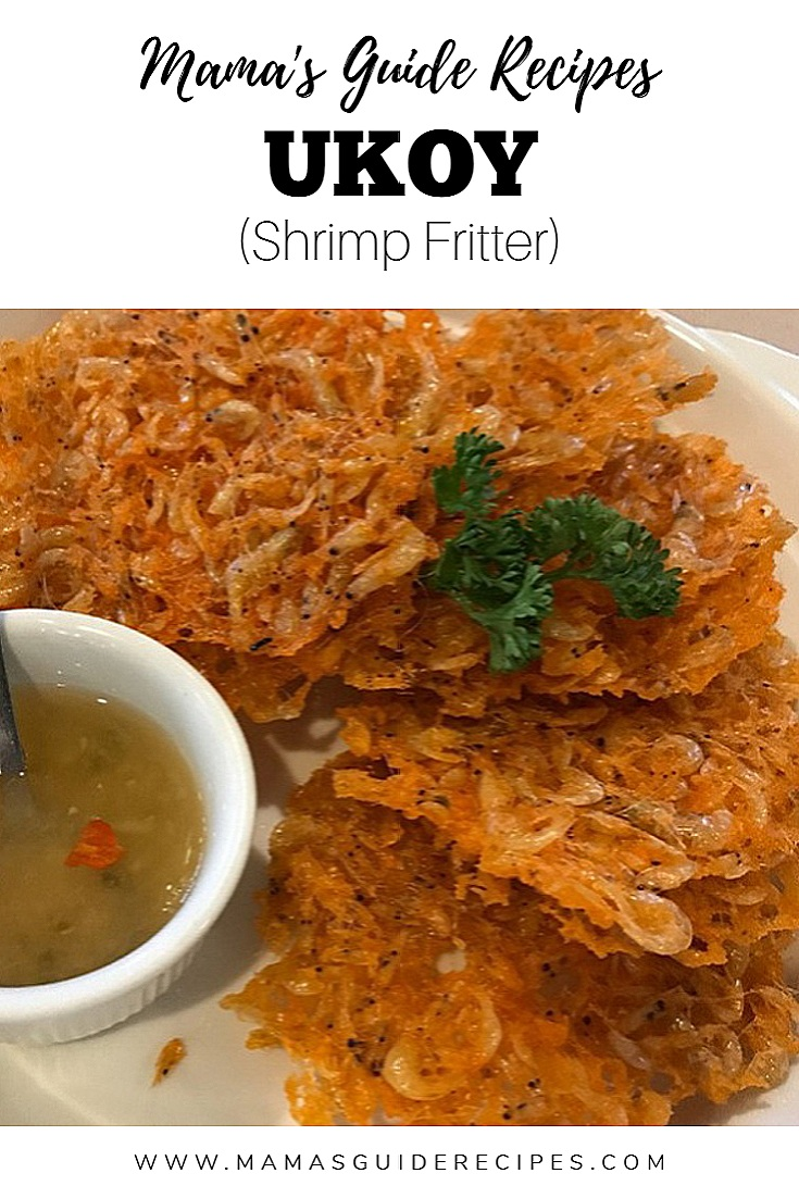 Ukoy (Shrimp Fritter)