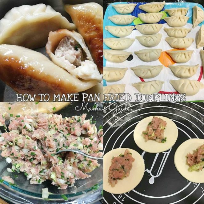 How to make Pan Fried Dumplings