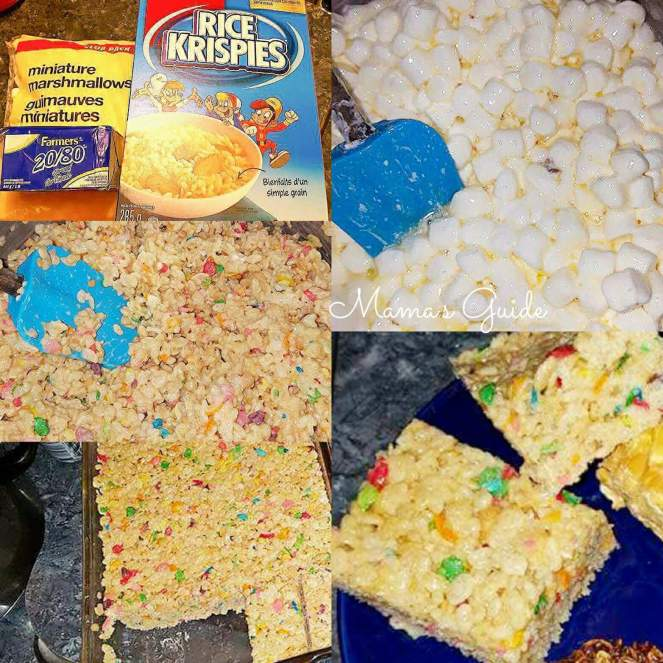 How to Make Rice Krispies Treat Bars (No bake)
