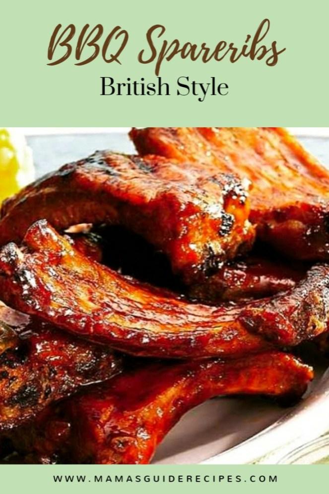 BBQ Spareribs (British Style)