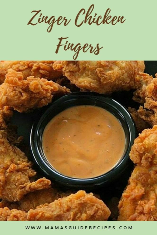 Zinger Chicken Fingers