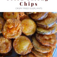 FRIED TALONG CHIPS
