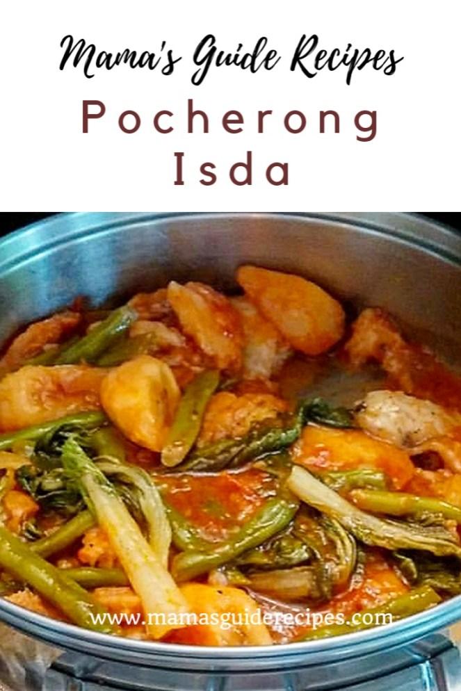 Fish Pochero, Pocherong Isda, Pocherong Pompano, pochero recipe, best pochero recipe,