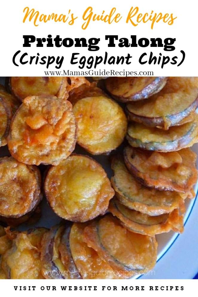Pritong Talong (Crispy Fried Eggplant Chips)