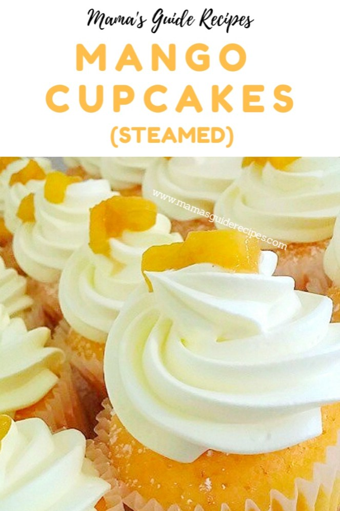 Mango Cupcakes (Steamed)